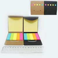 Стикер Josef Otten квадрат 25л + полоски 5цвет*25л 5х1,5см DSCN 5188 (36)