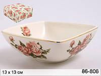 Фарфоровый салатник Lefard Корейская роза 86-806