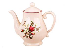 """Заварочный чайник 1150 мл """"Английская роза"""" 910-027"""