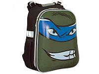 Рюкзак каркасный Turtles face 38*29*15см, 1 Вересня, H-12 Turtles face, 553345