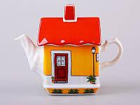 """Фарфоровый заварочный чайник Lefard """"Домик"""" 540 мл 86-1782"""