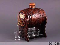 Набор для водки Бочка и 6 стопок 601-018