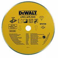 Диск алмазний 250 х 1,6 х 25,4 мм, сплошной, мокрый рез DeWALT