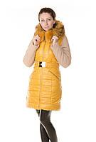 Зимняя женская куртка-трансформер Daser из био-кожи.