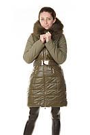 Зимняя женская куртка Daser из биокожи