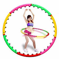 Обруч массажный роликовый Massage Hoop