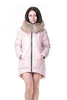 Женская зимняя куртка VoTarun с натуральным мехом