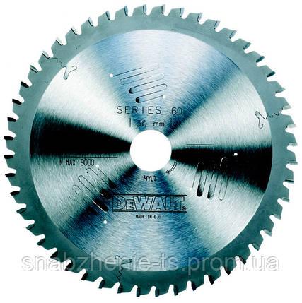 Пильный диск 235 х 30 мм по дереву для ручных дисковых пил, кол-во зубьев 40, передний угол 10°, WZ (ATB), Extreme DeWALT, фото 2