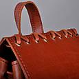 Женский рюкзак трансформер Feon из натуральной кожи, фото 8