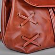 Женский рюкзак трансформер Feon из натуральной кожи, фото 9