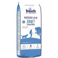 BOSCH (Бош) Breeder Line Lamb&Rise - корм д/соб. (ягненок+рис) 20 кг