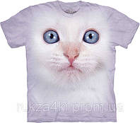 3D футболка The Mountain 103351 White Kitten Face