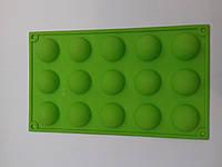 Форма силиконовая для конфет (15 шт)