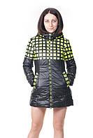 Женская демисезонная куртка Grace зеленая