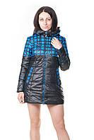 Куртка синяя женская на осень Grace, фото 1