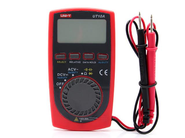 Мультиметр UNI-T UTM 110A (UT10A), цифровой