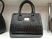 Стильная женская сумка под рептилию