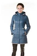 Куртка демісезонна жіноча Сlasna синя, фото 1