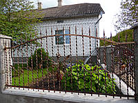 Кованый забор недорого (1212)