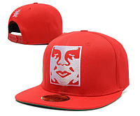 Кепка Obey Face Snapback Red