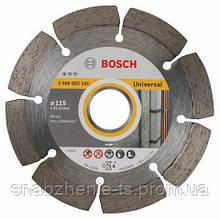 Алмазный отрезной круг 115 x 22,23 мм для обработки стройматериалов Standard for Universal BOSCH