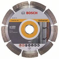 Алмазный отрезной круг 150 x 22,23 мм для обработки стройматериалов Standard for Universal BOSCH