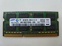 Память SoDIMM Samsung DDR3-1333 4GB 2Rx8 PC3-10600S-09-10-F2