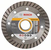 Алмазный отрезной круг 115 x 22,23 мм для любых стройматериалов Standard for Universal Turbo BOSCH