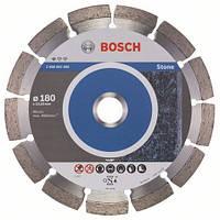 Алмазный отрезной круг 180 x 22,23 мм гранит, натуральный камень Standard for Stone BOSCH