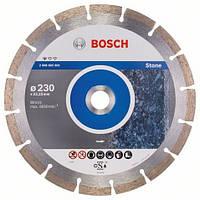 Алмазный отрезной круг 230 x 22,23 мм гранит, натуральный камень Standard for Stone BOSCH