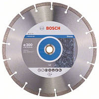 Алмазный отрезной круг 300 x 20/25,4 мм гранит, натуральный камень Standard for Stone BOSCH