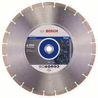 Алмазный отрезной круг 350 x 20/25,4 мм гранит, натуральный камень Standard for Stone BOSCH
