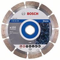 Алмазный отрезной круг 150 x 22,23 мм гранит, натуральный камень Standard for Stone BOSCH