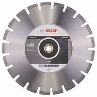 Алмазный отрезной круг 350 x 20/25,4 мм для резки асфальта Standard for Asphalt BOSCH