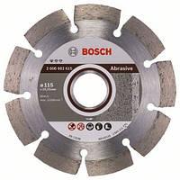 Алмазный отрезной круг 115 x 22,23 мм для обработки абразивных материалов Standard for Abrasive BOSCH