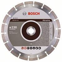 Алмазный отрезной круг 230 x 22,23 мм для обработки абразивных материалов Standard for Abrasive BOSCH