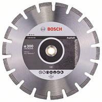 Алмазный отрезной круг 300 x 20/25,4 мм для резки асфальта Standard for Asphalt BOSCH