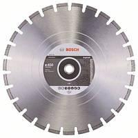 Алмазный отрезной круг 450 x 25,4 мм для резки асфальта Standard for Asphalt BOSCH