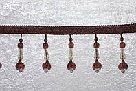 Бахрома для штор (шторная бахрома)-стеклярус