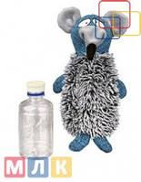 Trixie Игрушка для собак Крыса-грелка + бутылка, 21 см.