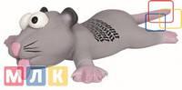 Trixie Игрушка для собак Крыса-мышь латекс, 22 см
