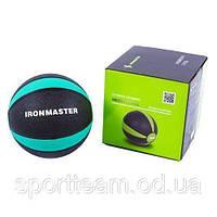 Мяч медицинский медюол 3 кг 21 см Ironmaster