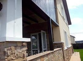 Мягкие ПВХ окна (прозрачные) для веранды дома