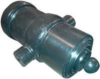 Гидроцилиндр подъема кузова ЗИЛ 5-ти штоковый. Тип крепления шарнир-цапфы (бугеля)
