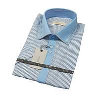 Приталенные мужские рубашки с коротким рукавом размер M