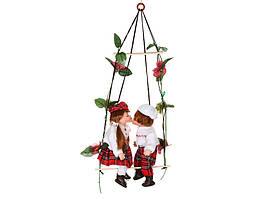 """Набор фарфоровых кукол """"Влюбленная парочка Шотландия"""" 485-074"""
