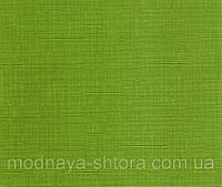 """Тканевые рулонные шторы """"Oasis"""" лен (зеленый), РАЗМЕР 40х170 см"""