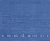 """Тканевые рулонные шторы """"Oasis"""" лен (небесно голубой), РАЗМЕР 40х170 см"""