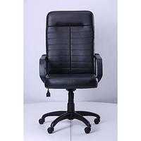 Кресло Ледли Пластик Кожа Сплит черная (AMF-ТМ)