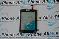 Сенсорный экран для мобильного телефона Nokia X3-02 черного цвета